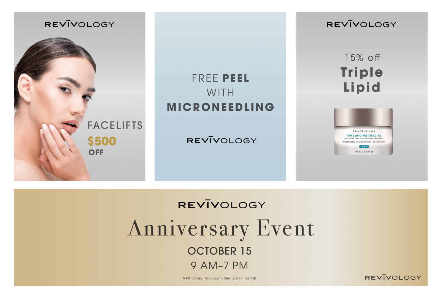Ocotober Specials - Revivology Medical Spa in South Jordan, UT
